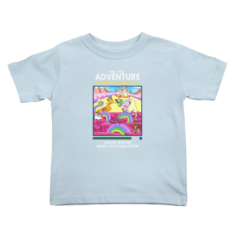 Time For Adventure Kids Toddler T-Shirt by Made With Awesome