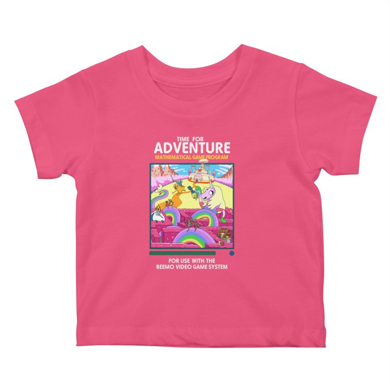 Time For Adventure Kids Baby T-Shirt by Made With Awesome