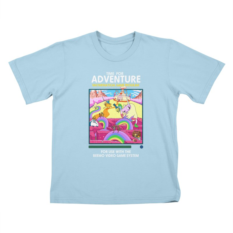 Time For Adventure Kids T-Shirt by Made With Awesome
