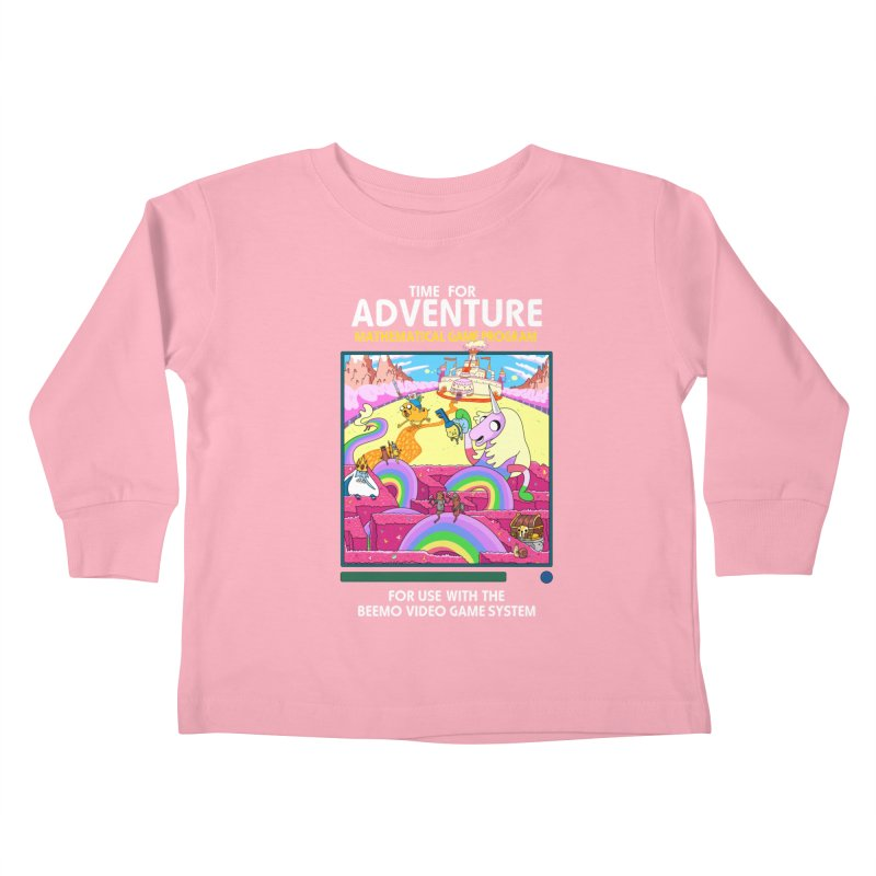 Time For Adventure Kids Toddler Longsleeve T-Shirt by Made With Awesome