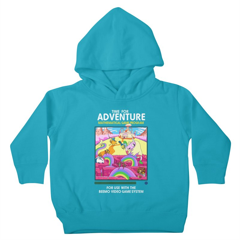 Time For Adventure Kids Toddler Pullover Hoody by Made With Awesome