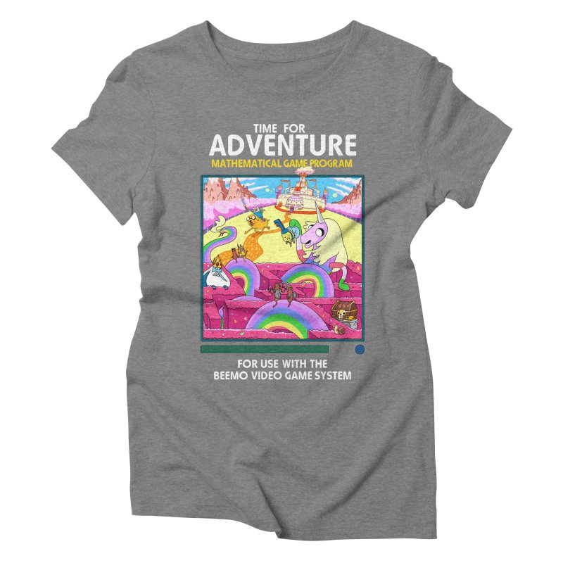 Time For Adventure Women's Triblend T-Shirt by Made With Awesome