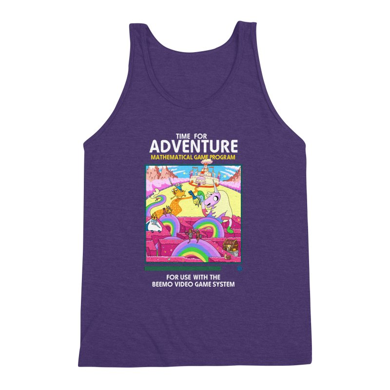 Time For Adventure Men's Triblend Tank by Made With Awesome