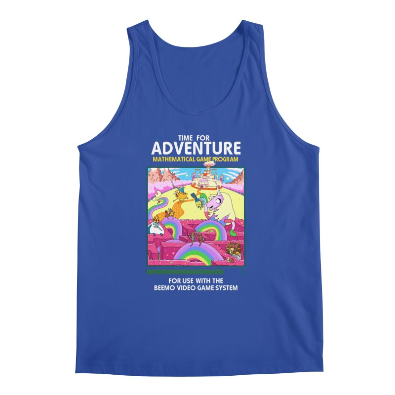 Time For Adventure Men's Regular Tank by Made With Awesome