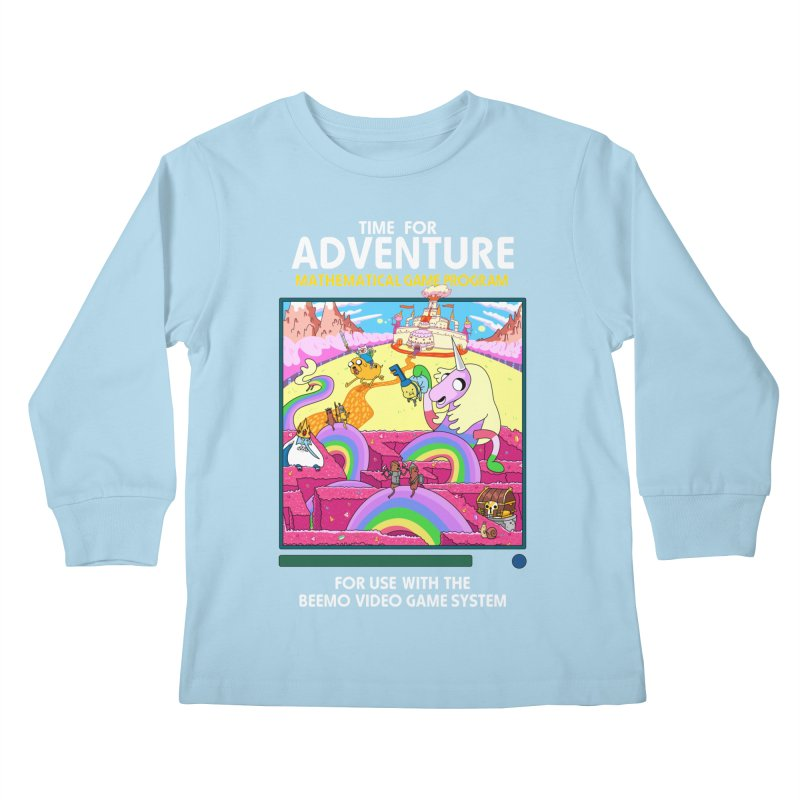 Time For Adventure Kids Longsleeve T-Shirt by Made With Awesome