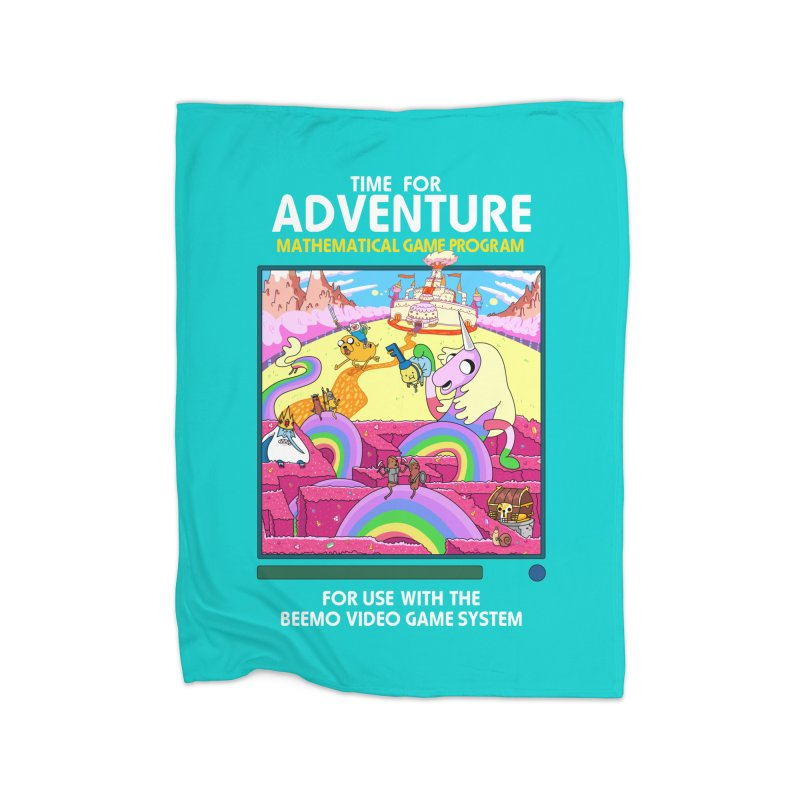 Time For Adventure Home Blanket by Made With Awesome