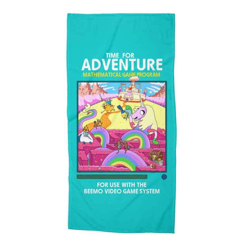 Time For Adventure Accessories Beach Towel by Made With Awesome