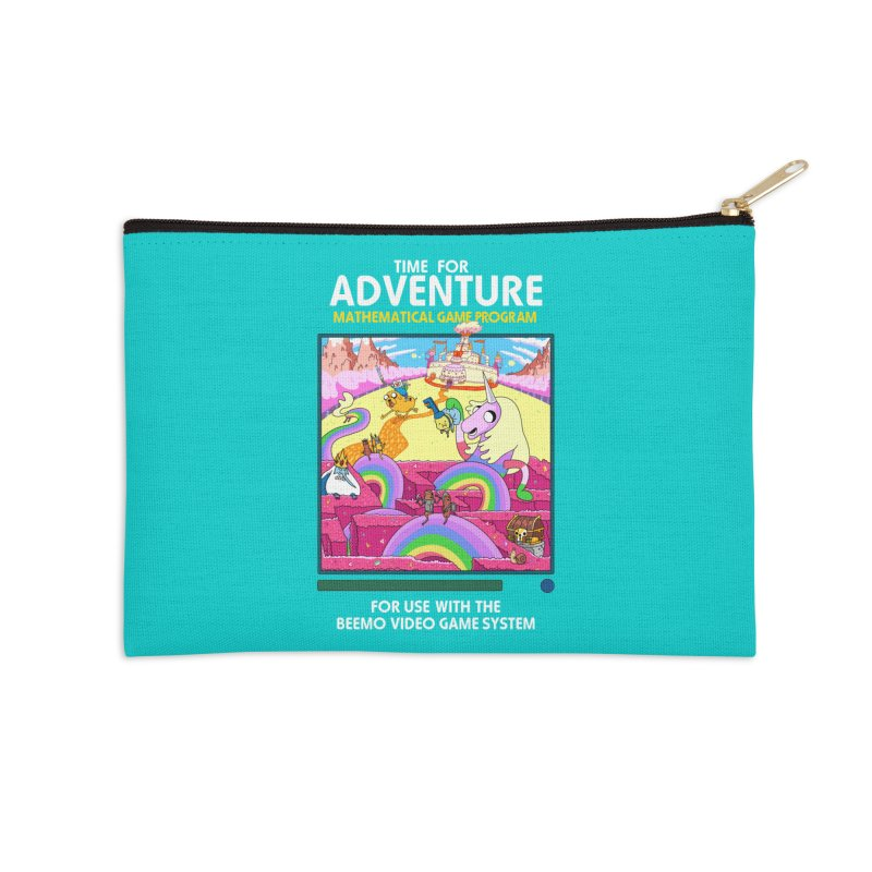 Time For Adventure Accessories Zip Pouch by Made With Awesome