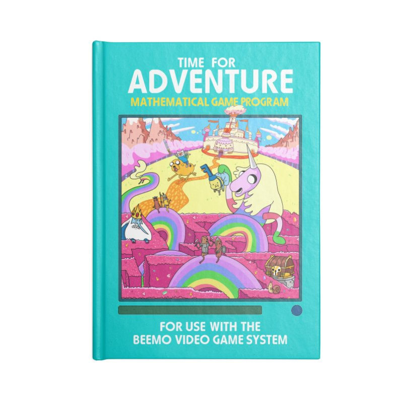 Time For Adventure Accessories Lined Journal Notebook by Made With Awesome