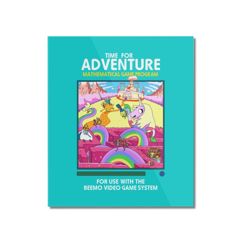 Time For Adventure Home Mounted Acrylic Print by Made With Awesome