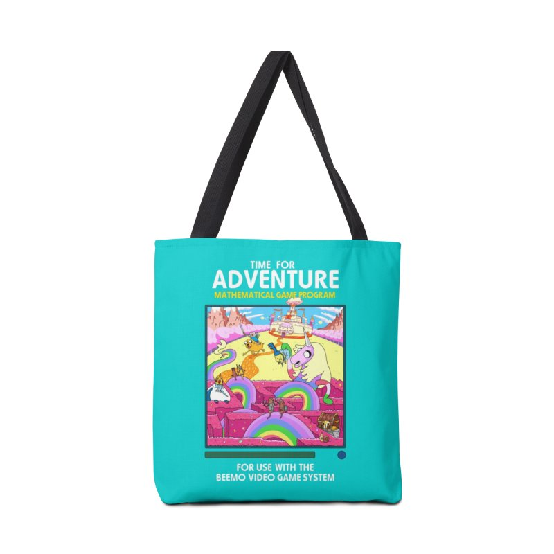 Time For Adventure Accessories Tote Bag Bag by Made With Awesome