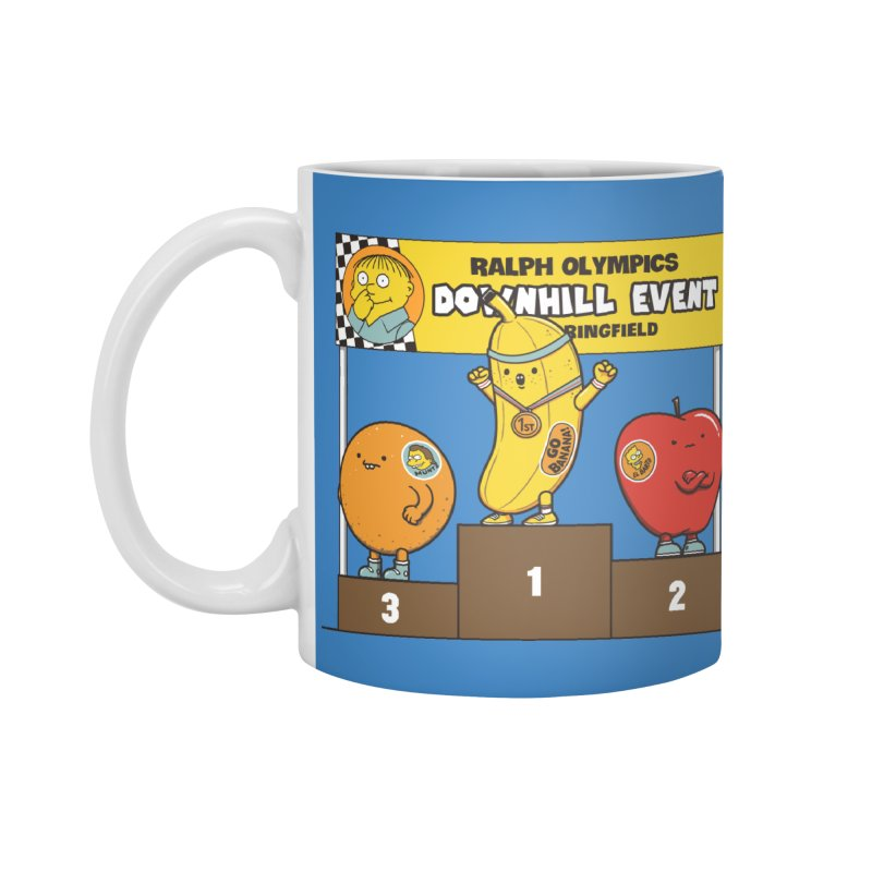 GO BANANA! Accessories Standard Mug by Made With Awesome