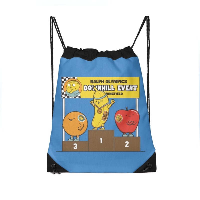 GO BANANA! Accessories Drawstring Bag Bag by Made With Awesome