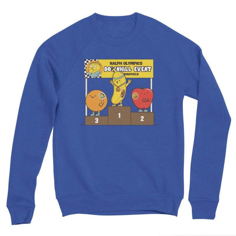 GO BANANA! Men's Sponge Fleece Sweatshirt by Made With Awesome
