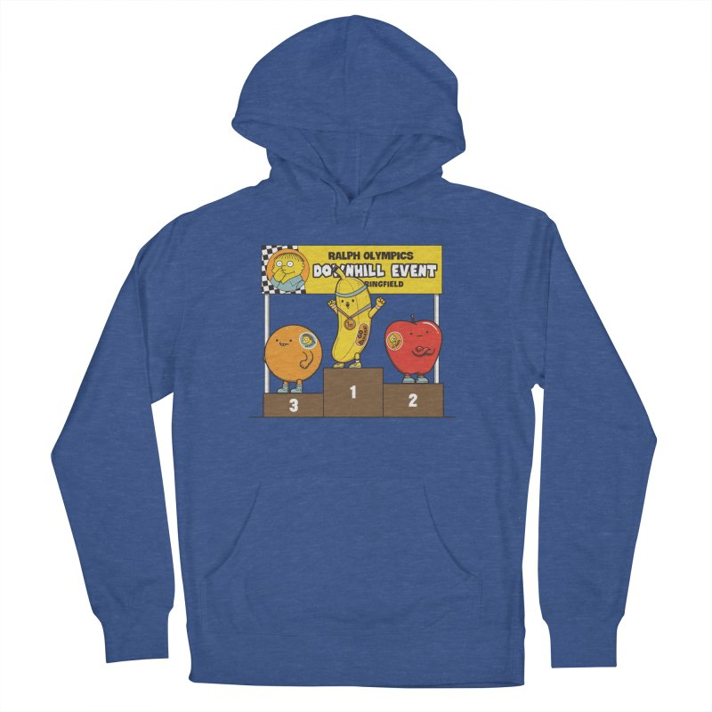 GO BANANA! Men's French Terry Pullover Hoody by Made With Awesome