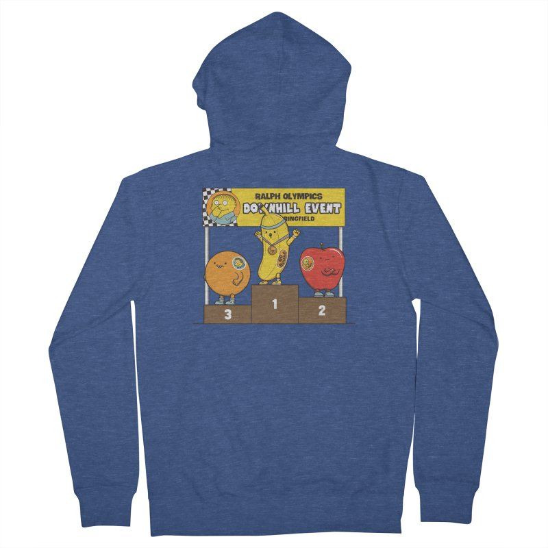 GO BANANA! Men's French Terry Zip-Up Hoody by Made With Awesome