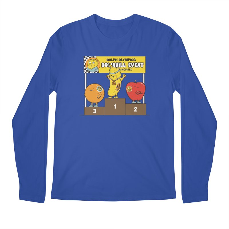 GO BANANA! Men's Regular Longsleeve T-Shirt by Made With Awesome