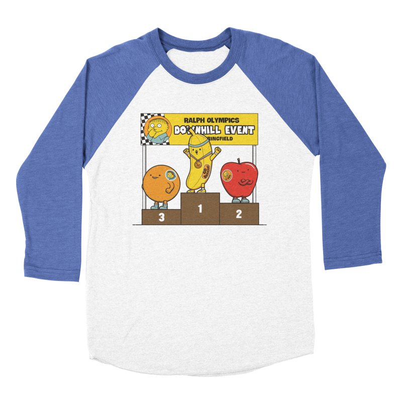 GO BANANA! Men's Baseball Triblend Longsleeve T-Shirt by Made With Awesome