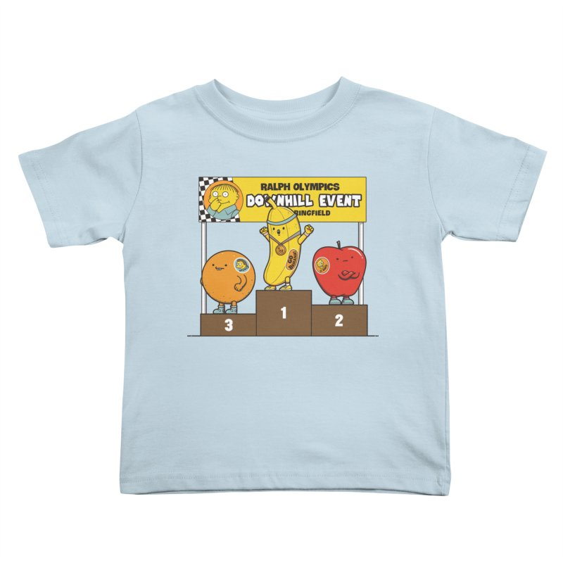 GO BANANA! Kids Toddler T-Shirt by Made With Awesome