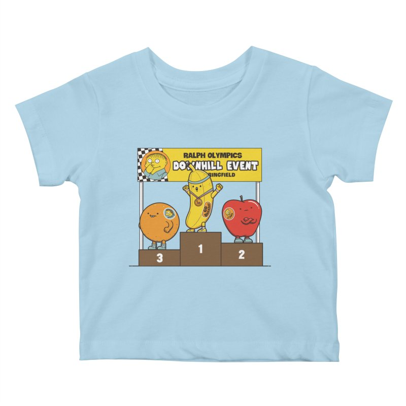 GO BANANA! Kids Baby T-Shirt by Made With Awesome