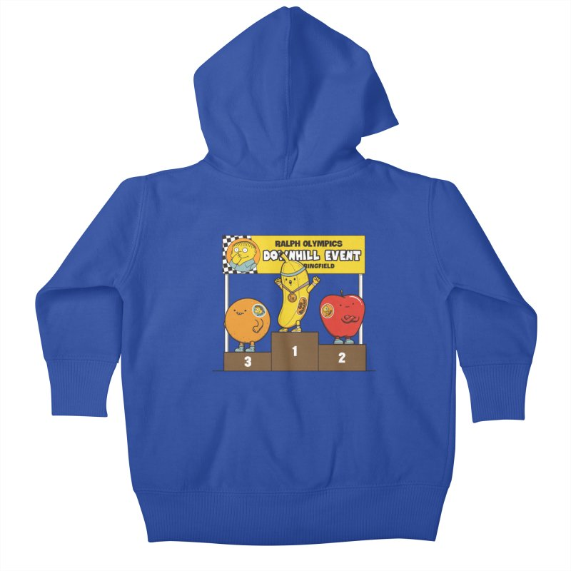 GO BANANA! Kids Baby Zip-Up Hoody by Made With Awesome
