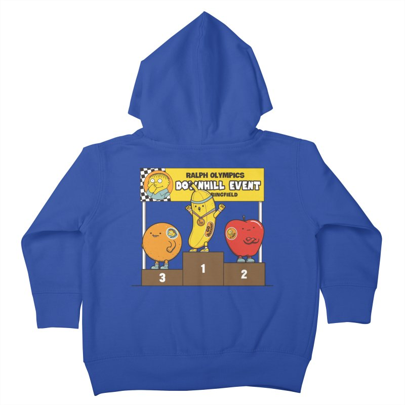 GO BANANA! Kids Toddler Zip-Up Hoody by Made With Awesome
