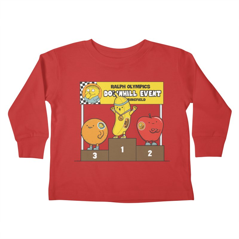 GO BANANA! Kids Toddler Longsleeve T-Shirt by Made With Awesome