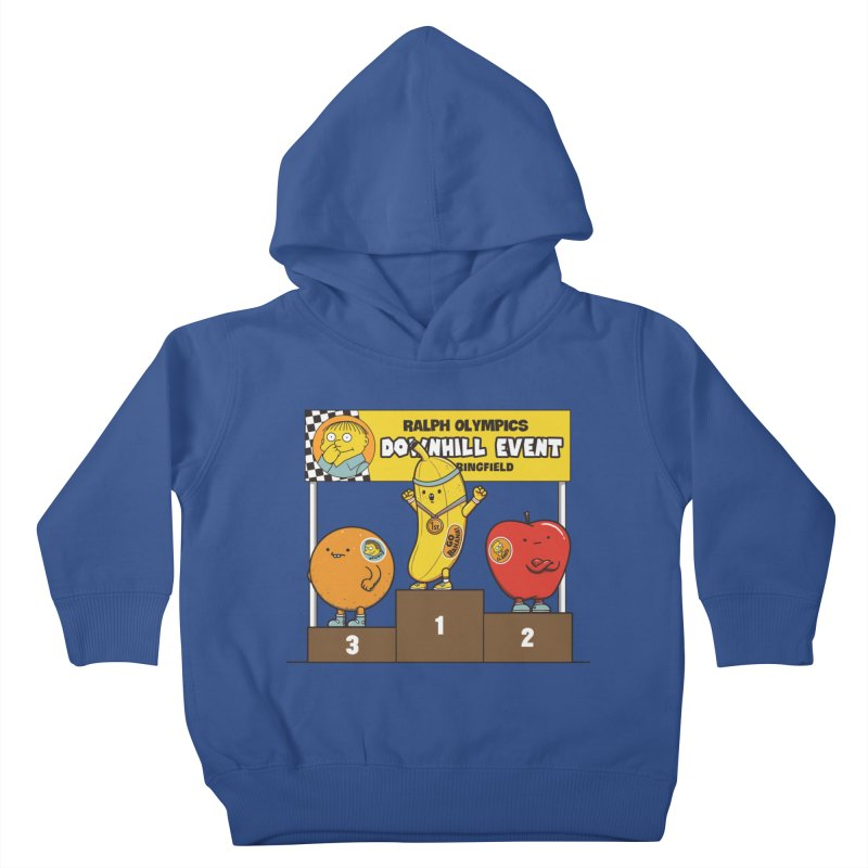 GO BANANA! Kids Toddler Pullover Hoody by Made With Awesome