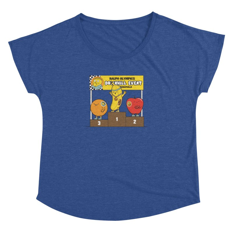 GO BANANA! Women's Dolman Scoop Neck by Made With Awesome
