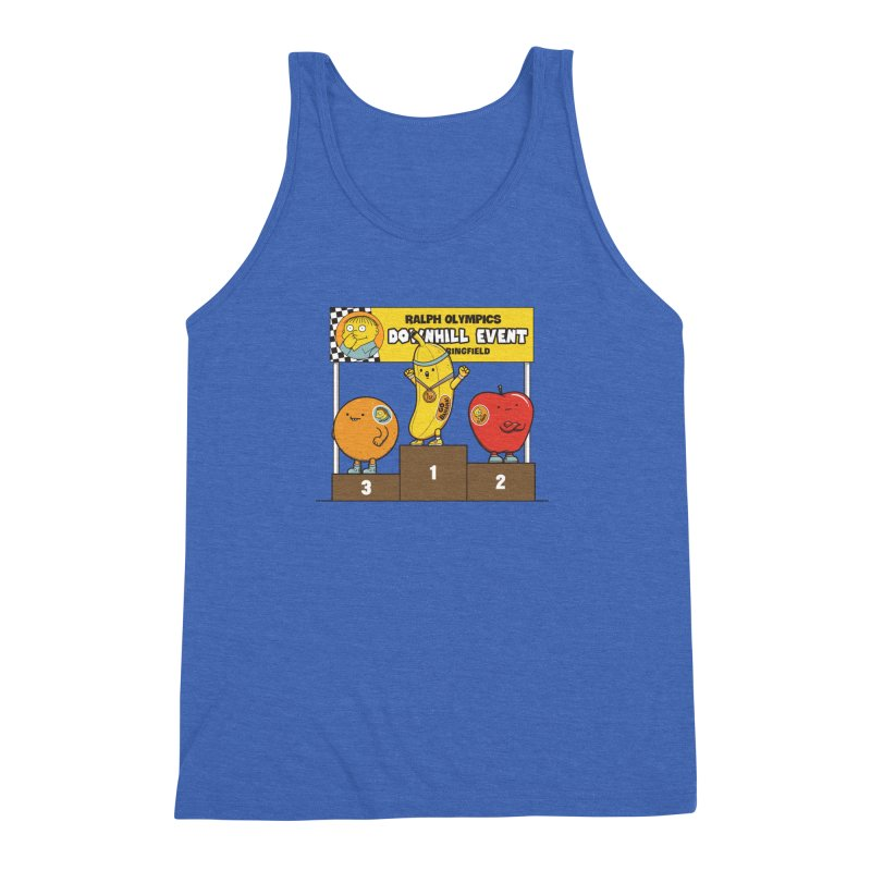 GO BANANA! Men's Triblend Tank by Made With Awesome