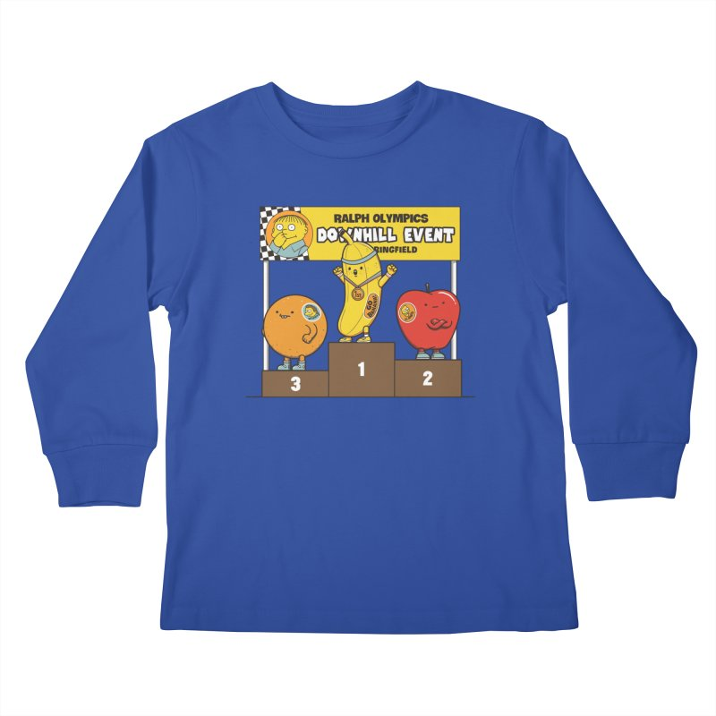 GO BANANA! Kids Longsleeve T-Shirt by Made With Awesome