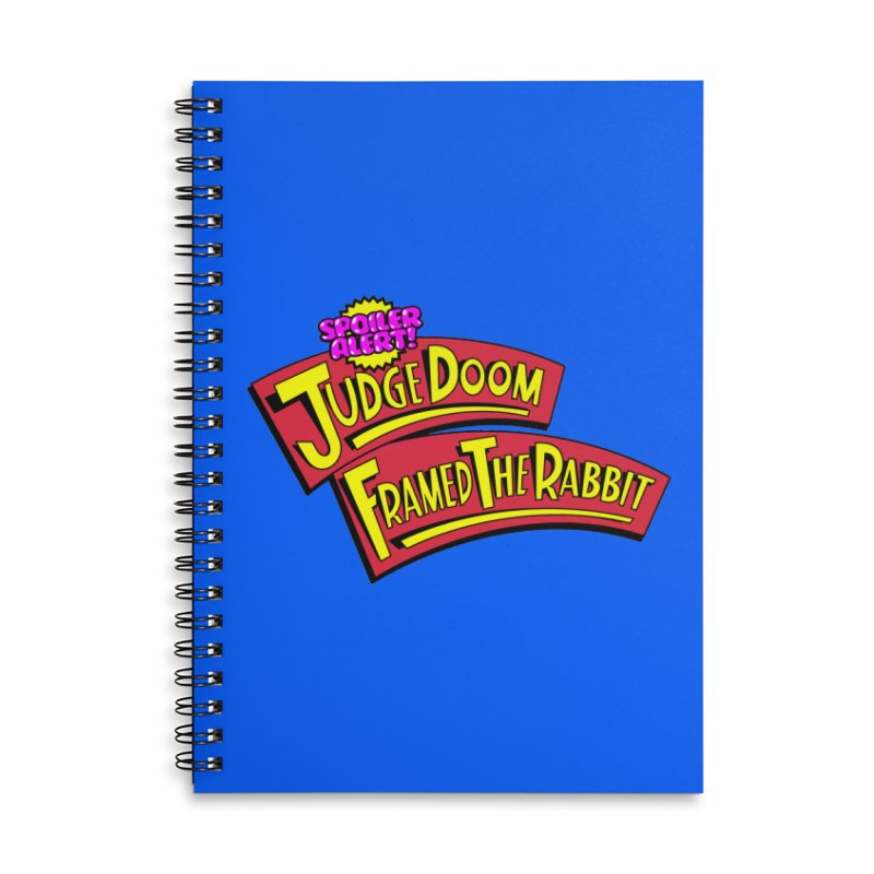Mystery Solved Accessories Lined Spiral Notebook by Made With Awesome