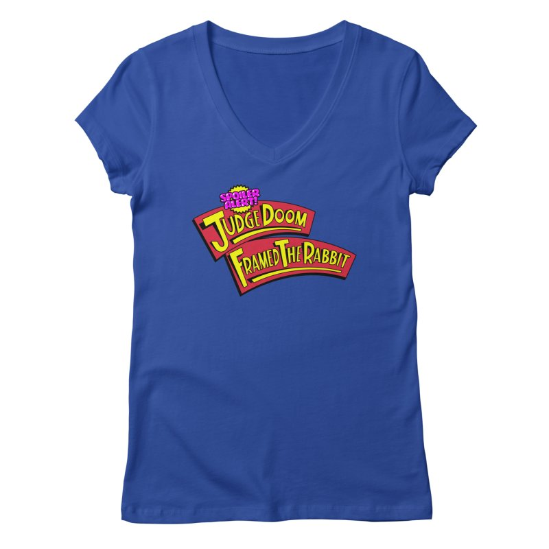 Mystery Solved Women's V-Neck by Made With Awesome
