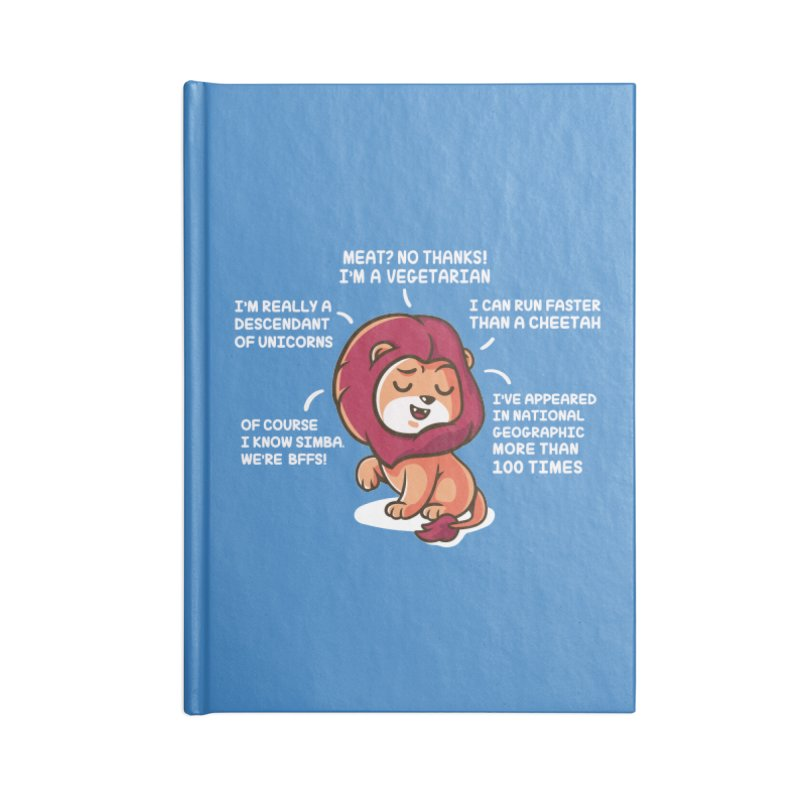 Lyin' Accessories Lined Journal Notebook by Made With Awesome