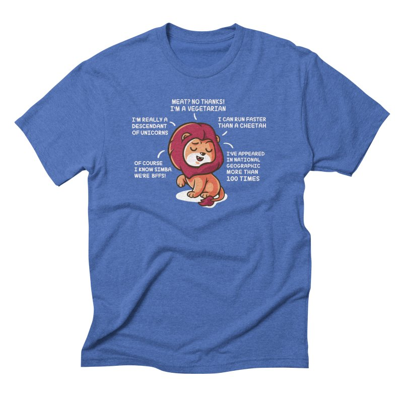 Lyin' Men's Triblend T-Shirt by Made With Awesome