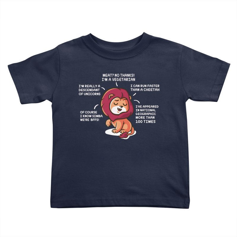 Lyin' Kids Toddler T-Shirt by Made With Awesome