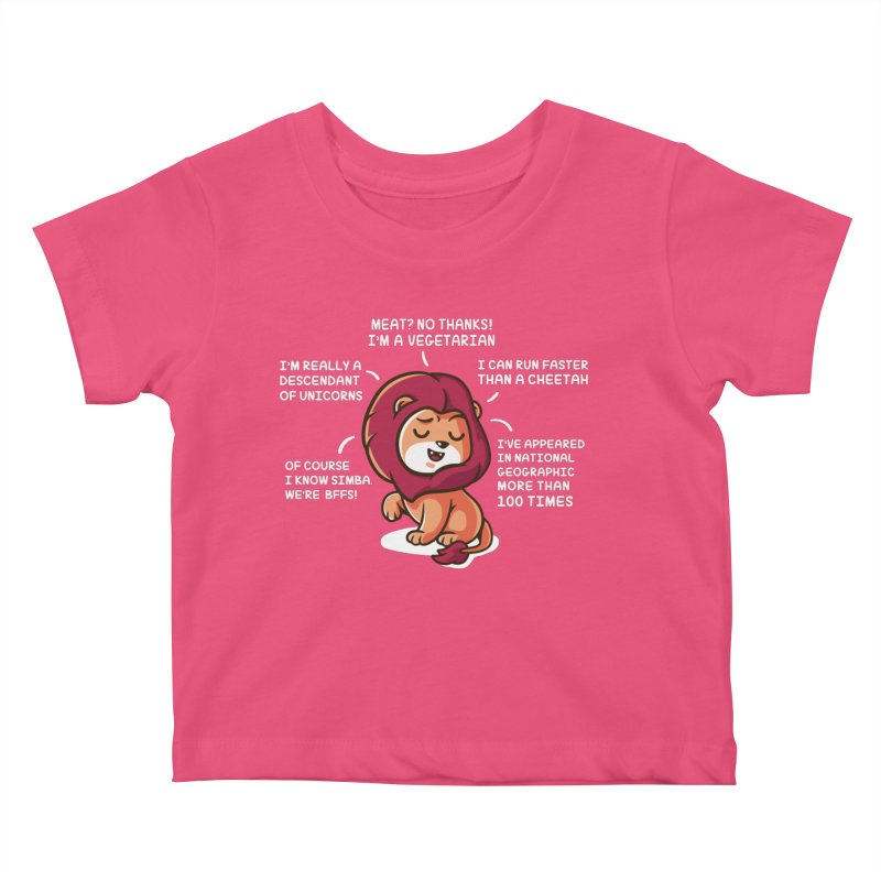 Lyin' Kids Baby T-Shirt by Made With Awesome