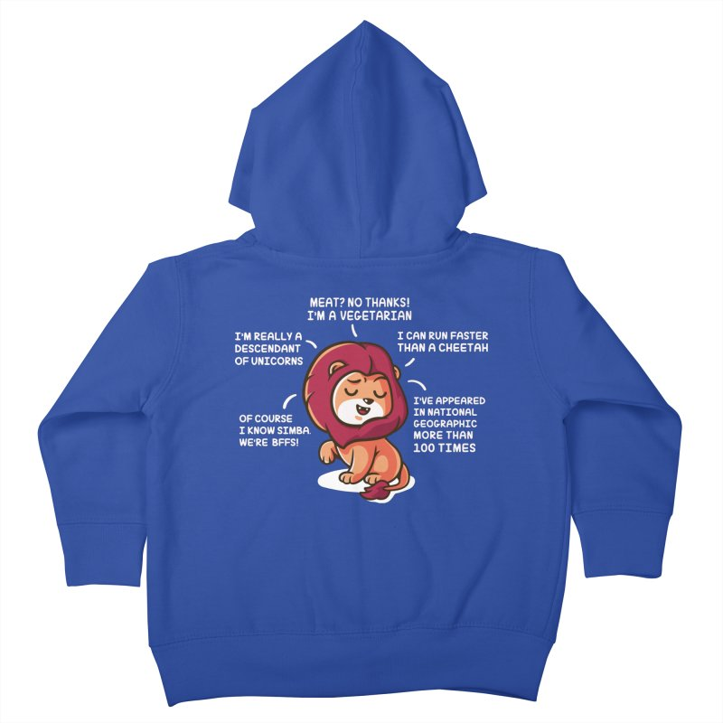 Lyin' Kids Toddler Zip-Up Hoody by Made With Awesome