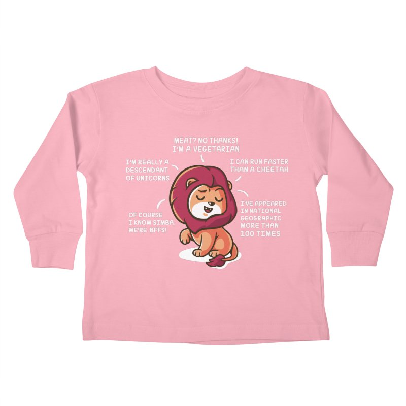 Lyin' Kids Toddler Longsleeve T-Shirt by Made With Awesome