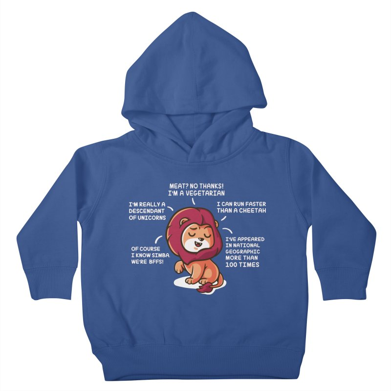 Lyin' Kids Toddler Pullover Hoody by Made With Awesome