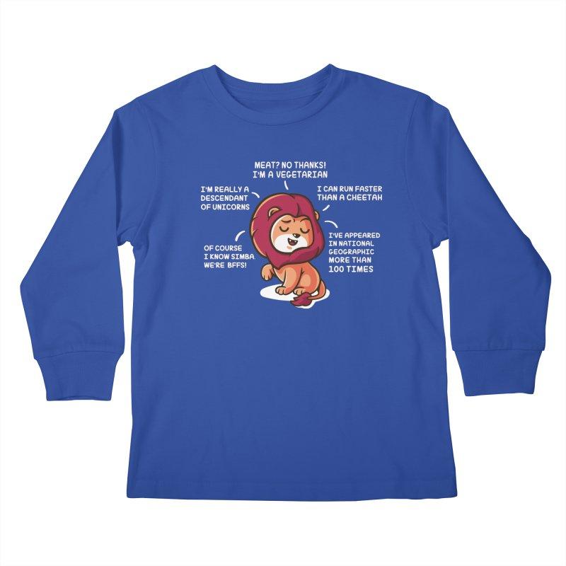 Lyin' Kids Longsleeve T-Shirt by Made With Awesome