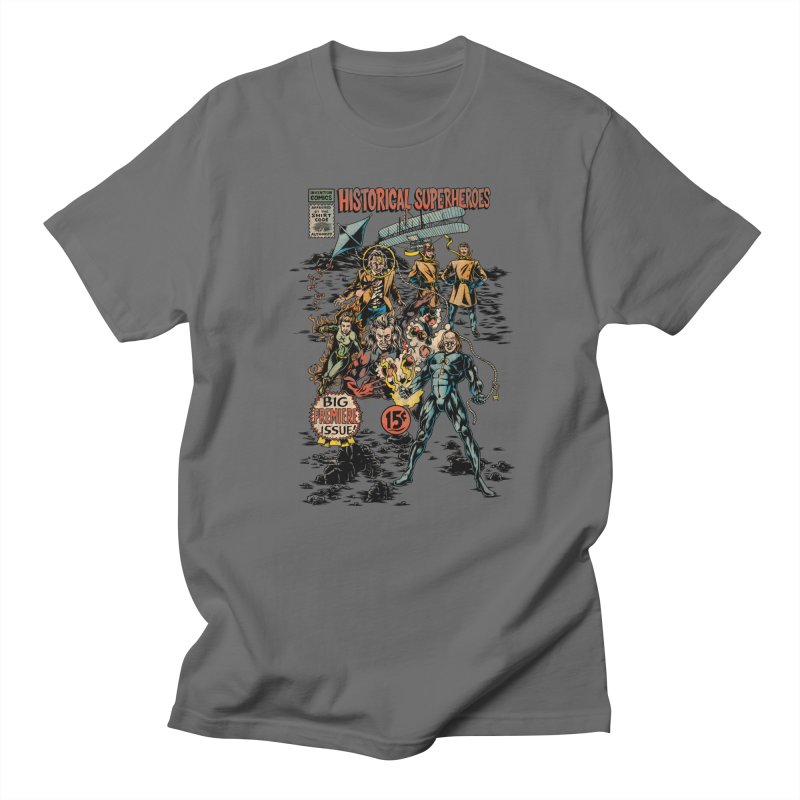 Historical Superheroes Men's T-Shirt by Made With Awesome
