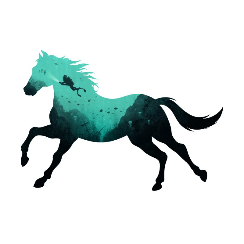Seehorse by Made With Awesome