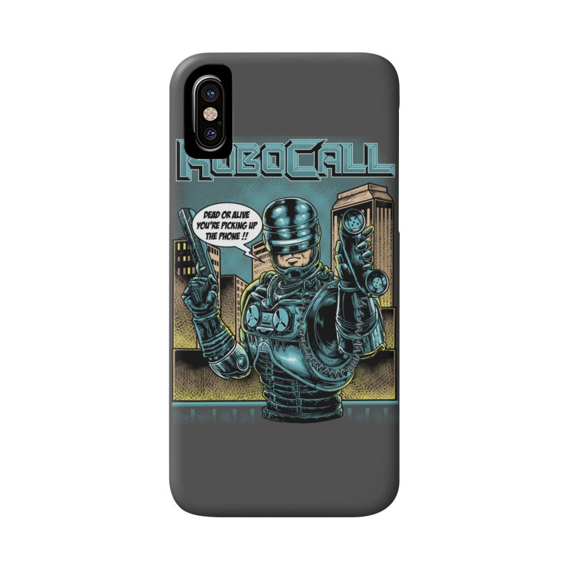 Robocall Accessories Phone Case by Made With Awesome
