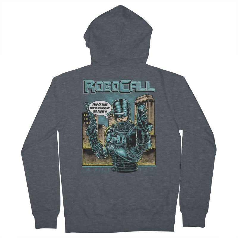 Robocall Women's Zip-Up Hoody by Made With Awesome