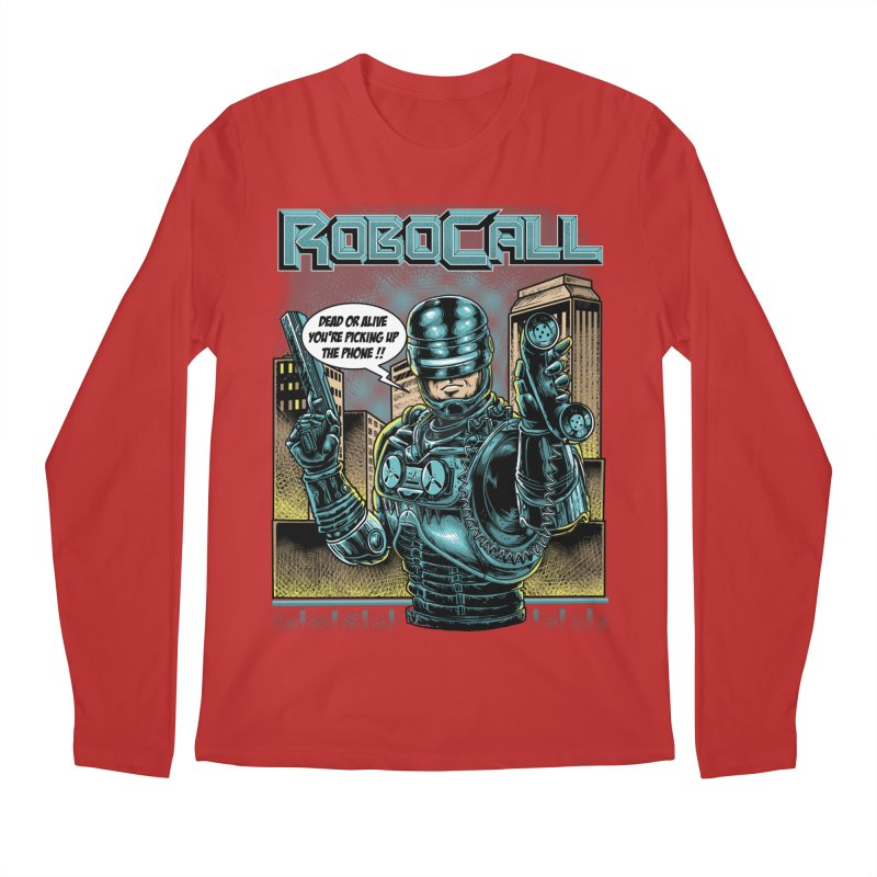 Robocall Men's Regular Longsleeve T-Shirt by Made With Awesome