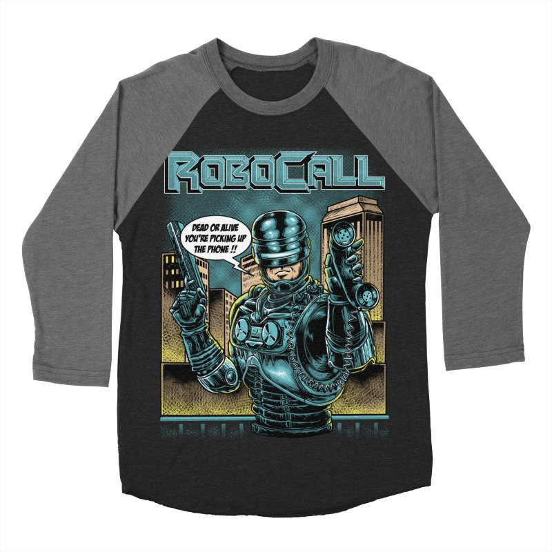 Robocall Men's Baseball Triblend Longsleeve T-Shirt by Made With Awesome