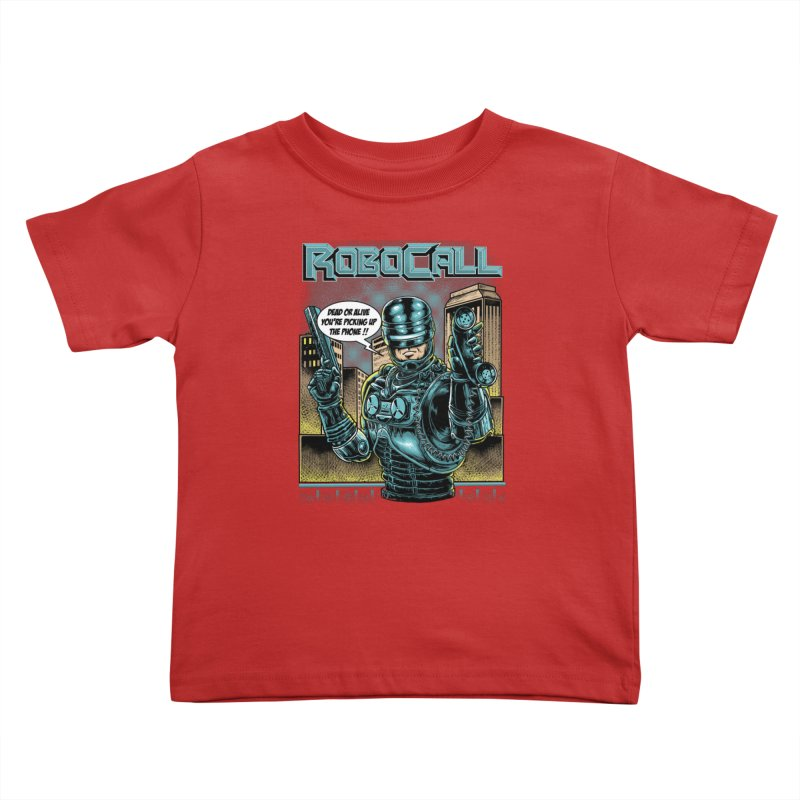 Robocall Kids Toddler T-Shirt by Made With Awesome