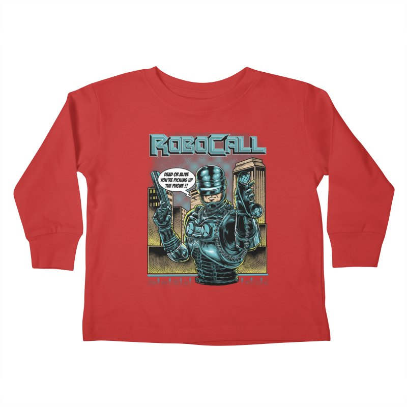Robocall Kids Toddler Longsleeve T-Shirt by Made With Awesome