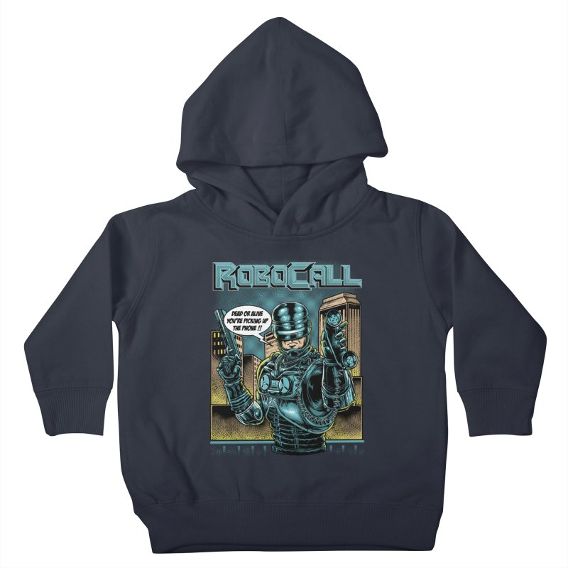 Robocall Kids Toddler Pullover Hoody by Made With Awesome